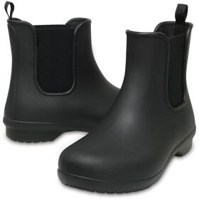 Crocs Freesail Chelsea Boots Damen black/black